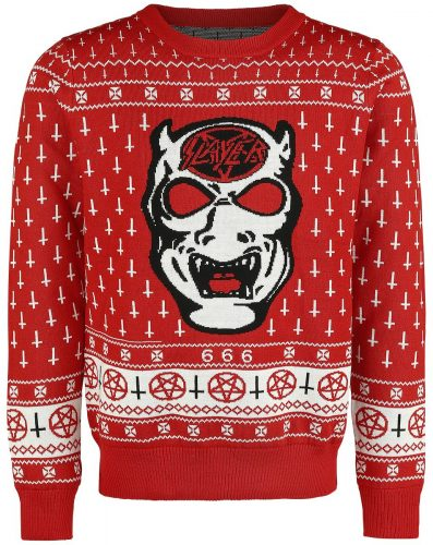 Kersttrui Met Muziek.Slayer Kersttrui Lenny S Adventures