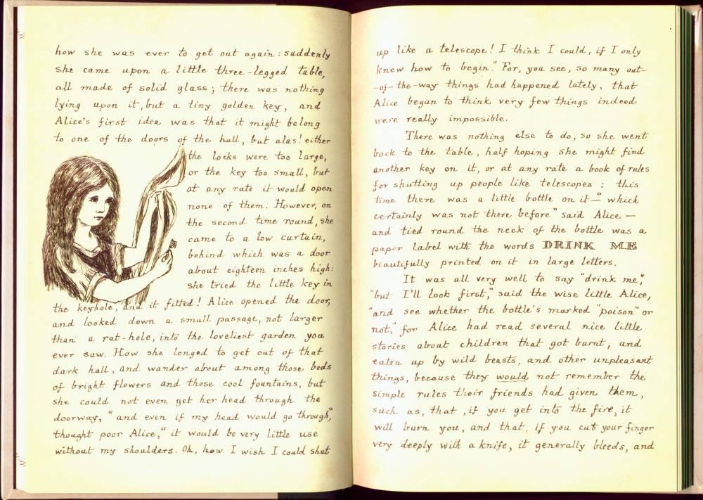 alices adventures under ground manuscript scans alice