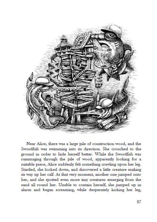 Alice's Adventures under Water page 87