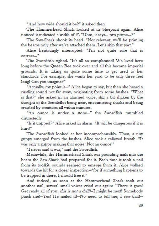 Alice's Adventures under Water page 89