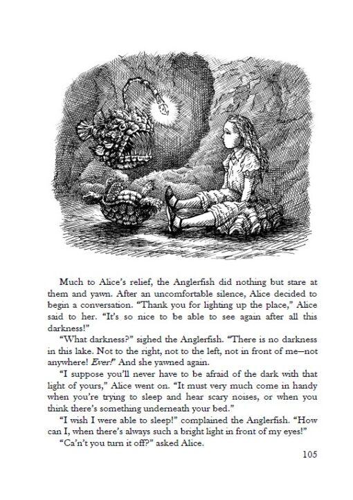 Alice's Adventures under Water page 105