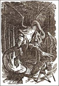 Jabberwock by John Tenniel