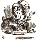 Mad Hatter by John Tenniel