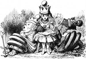 Alice with sleeping queens