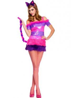 3-PC-Ladies-Cheshire-Kitten-Costume-Dress-0-1