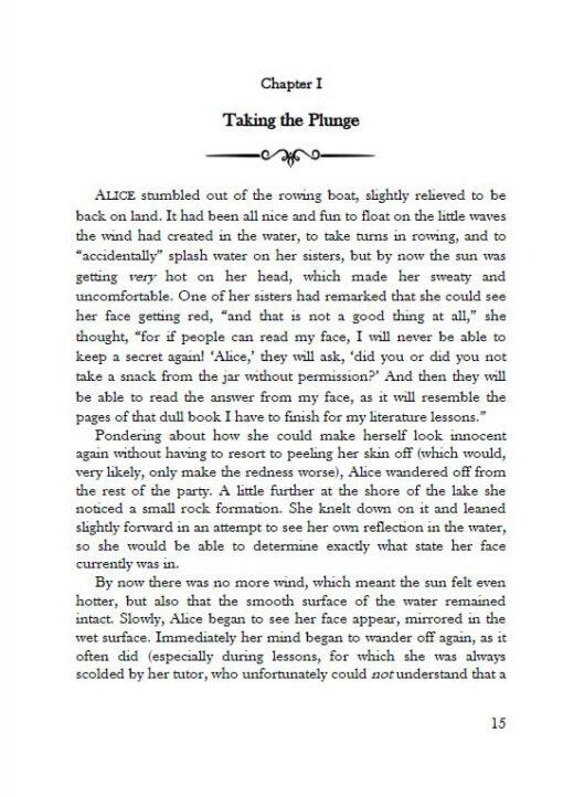 Alice's Adventures under Water page 15