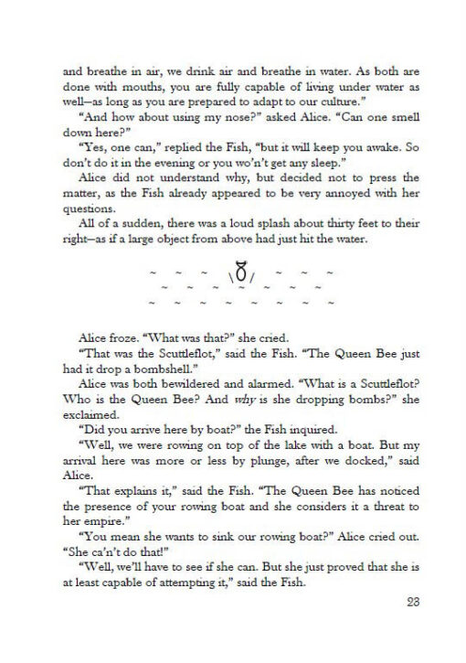 Alice's Adventures under Water page 23