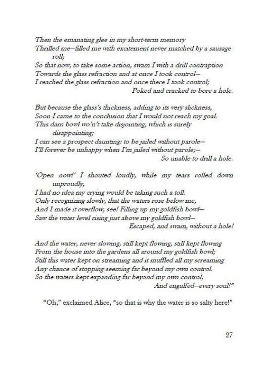 Alice's Adventures under Water page 27