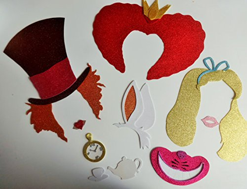 Alice In Wonderland Inspired Photo Booth Party Props
