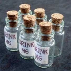 Alice-in-Wonderland-6Pcs-Steampunk-Antique-1ml-Drink-Me-Vial-Mix-Lot-96-0-1
