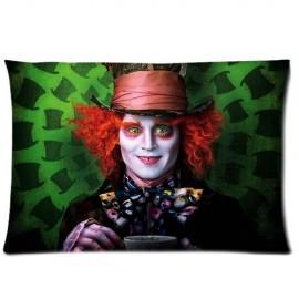 Alice-in-Wonderland-Mad-HatterJohnny-Depp-Pillowcases-20x26-Inch-0