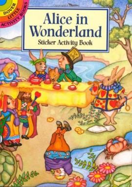 Alice-in-Wonderland-Sticker-Activity-Book-Dover-Little-Activity-Books-Stickers-0