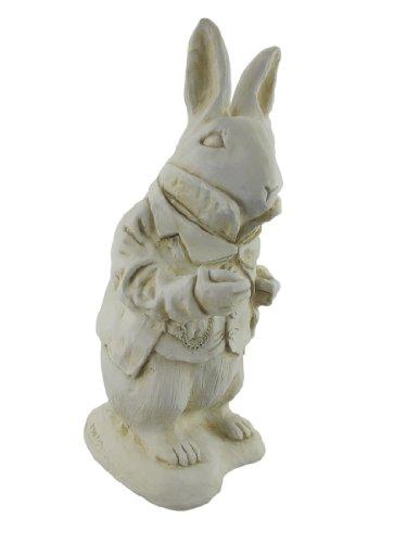 Alice In Wonderland, White Rabbit, Mad Hatter Garden Statue Set    Alice In Wonderland.net Shop