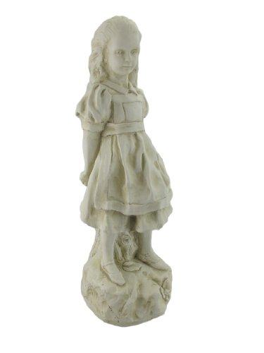 Alice In Wonderland, White Rabbit, Mad Hatter Garden Statue Set