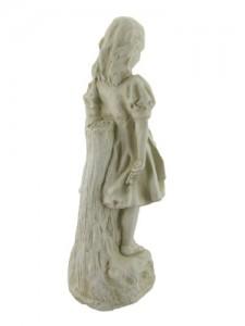 Alice in wonderland white rabbit mad hatter garden statue set alice in shop for Alice in wonderland garden statues