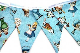 Alice-in-Wonderland-garland-pennant-banner-fabric-banner-0