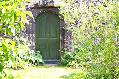 The door to Wonderland
