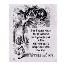 CafePress-Alice-in-Wonderland-Cat-Throw-Blanket-Standard-Multi-color-0