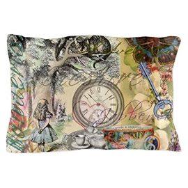 CafePress-Unique-Design-Cheshire-Cat-Alice-in-Wonderland-Pillow-Case-0