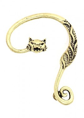 Cheshire-Cat-Earring-Ear-Cuff-Metal-Wrap-Gold-Tone-Alice-in-Wonderland-CE10-Fashion-Jewelry-0