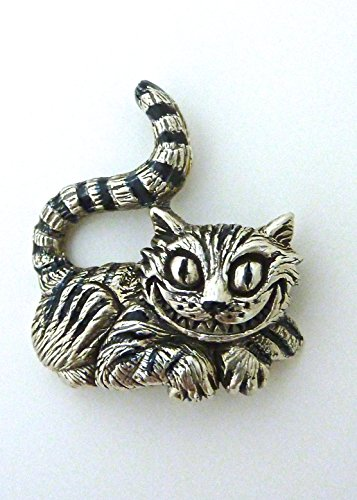 Cheshire cat pendant sterling silver alice in wonderland shop cheshire cat pendant sterling silver mozeypictures Image collections