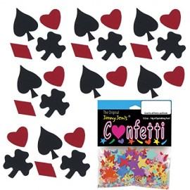 Confetti-MultiShape-Black-Jack-Mix-4-Half-Oz-Pouches-2-oz-FREE-SHIPPING-8428-0
