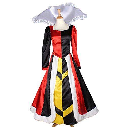 cosplaydiy womenu0027s dress for queen of hearts cosplay