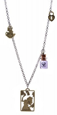 DaisyJewel-Lost-in-Wonderland-Mixed-Metals-Multi-Pendant-Charm-Necklace-0