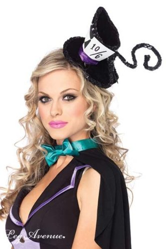 Deluxe Mad Hatter Hat Black O S - Alice-in-Wonderland.net shop caaf6462883