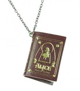 Disney-Alice-In-Wonderland-Book-Necklace-0