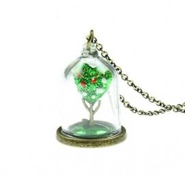 Disney-Alice-In-Wonderland-Queen-Of-Hearts-Tree-Necklace-0