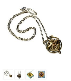 Disney-Alice-Through-the-Looking-Glass-Chronosphere-Necklace-New-0