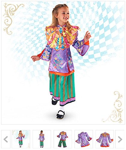 Disney u2013 Alice Through the Looking Glass Deluxe Costume for Kids  sc 1 st  Alice in Wonderland.net & Disney - Alice Through the Looking Glass Deluxe Costume for Kids ...