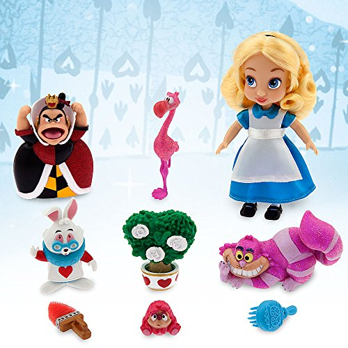 3936f6bb261 Disney Animators  Collection Alice Mini Doll Play Set - 5 Inches ...