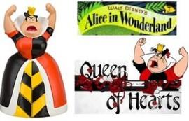 Disney-Villains-Exclusive-PVC-Figure-Alice-in-Wonderland-Queen-of-Hearts-0