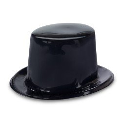 Dozen-Kids-Black-Plastic-Birthday-Party-Favor-Top-Hats-Toy-0