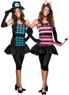 Dreamgirl-Womens-Mad-About-You-Reversible-Teen-Costume-0