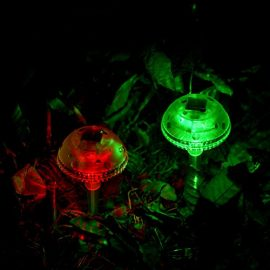 Fashionlite-Solar-Lights-Outdoor-Garden-Stakes-Color-Changing-Mushroom-Lights-For-Lawn-Yard-Decorations-2-Mushrooms-SL002-0