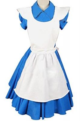 Firecos-Alice-In-Wonderland-Movie-Alice-Blue-Dress-Halloween-Costume-0