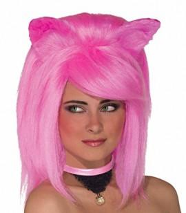 Forum-Novelties-Womens-Feline-Fantasy-Wig-Hot-Pink-One-Size-0