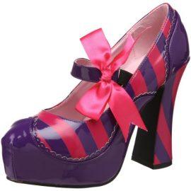 Funtasma-by-Pleaser-Womens-Kitty-32PURHP-PumpPurpleHot-Pink-Patent11-M-US-0-6
