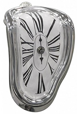 Jumbl-Novelty-MeltingTime-Warp-Clock-Sits-on-Shelf-to-Create-Illusion-of-a-Timepiece-Melting-Down-0