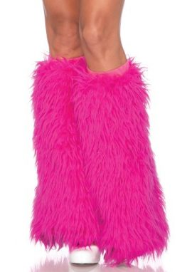 Leg-Avenue-Womens-Furry-Leg-Warmers-Hot-Pink-One-Size-0