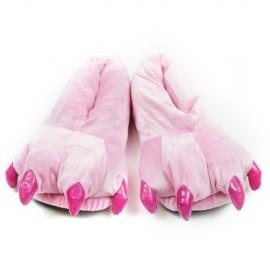 Leisureland-Animal-Bear-Paw-Slippers-For-Women-and-Men-Unisex-0
