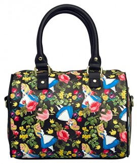 Loungefly-Alice-In-Wonderland-Floral-Cross-Body-0-0