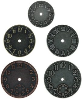Metal-Timepieces-by-Tim-Holtz-Idea-ology-5-per-Pack-Various-Sizes-Antique-Finishes-TH92831-0