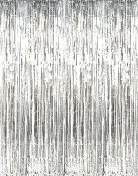 Metallic-Silver-Foil-Fringe-Curtains-1-pc-0