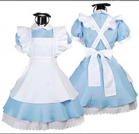 Ninimour-Womens-Alice-Wonderland-French-Apron-Maid-Cosplay-Costume-blue-0