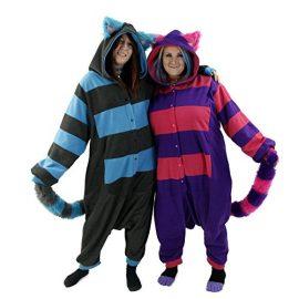 Pawstar-Cheshire-Cat-Kigurumi-One-Size-Adult-Cosplay-Kigu-Pajamas-Costume-0-0