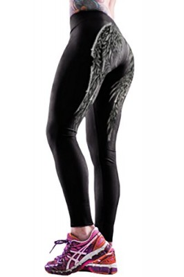 Pink-Queen-Hipsters-Digital-3d-Wings-Print-Fitness-Exercise-Leggings-Tights-0